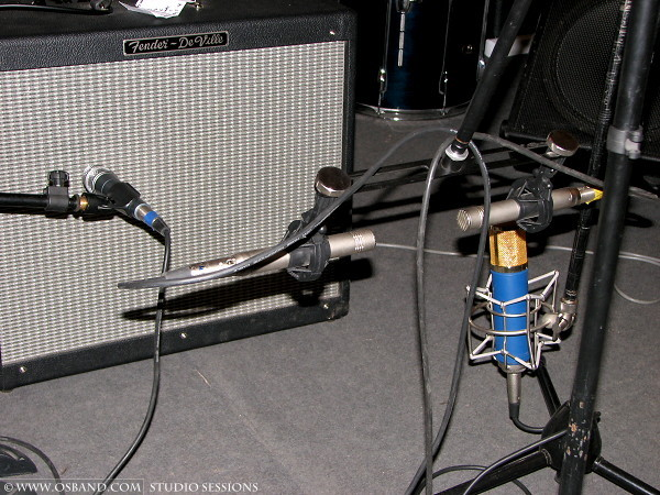 Old Mics Setup